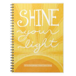 "Journal - ""Shine Your Light"""