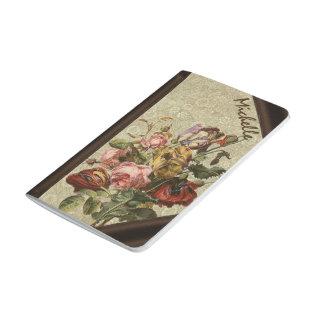 Journal vintage flowers