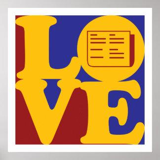 Journalism Love Poster