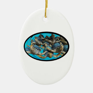 Journey By Sea Ceramic Ornament