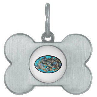 Journey By Sea Pet ID Tag