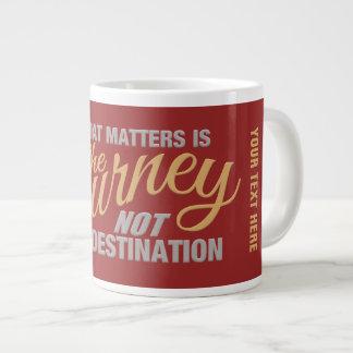 JOURNEY custom mug