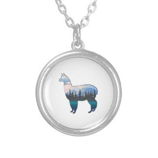 Journey in the Park Silver Plated Necklace