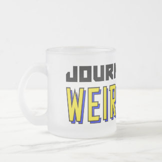 Journey Into Weirdness Frosted Mug