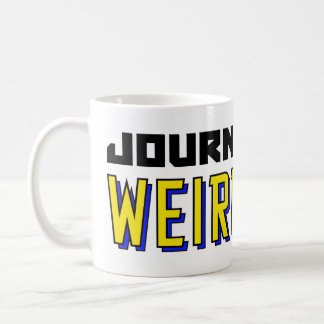 Journey Into Weirdness Hot Beverage Vessels Coffee Mug