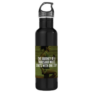 Journey Of A Thousand Miles - Workout Inspiration 710 Ml Water Bottle