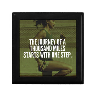 Journey Of A Thousand Miles - Workout Inspiration Gift Box