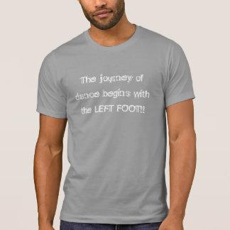 Journey of Dance - left foot men T-Shirt