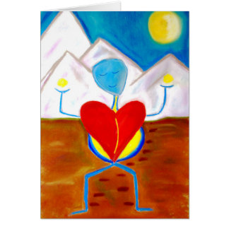 Journey of the Heart greeting card