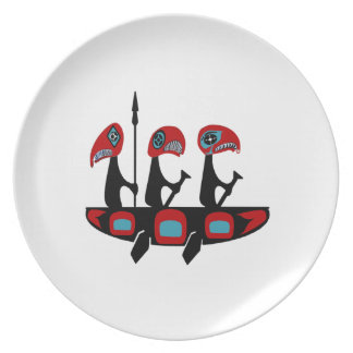 Journey of the Raven Plate