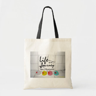 """""""Journey"""" Rubber Duck Tote Bag"""