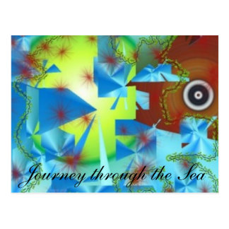 Journey Thru the Sea Postcard