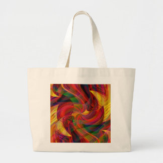 Journey to Bedlam Large Tote Bag