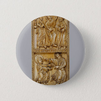 Journey to Emmaus and Noli Me Tangere 2 Inch Round Button