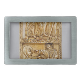 Journey to Emmaus and Noli Me Tangere Belt Buckles