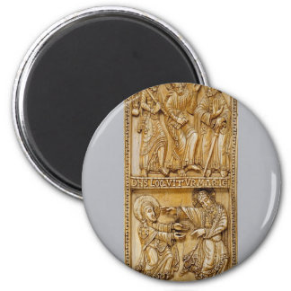 Journey to Emmaus and Noli Me Tangere Magnet