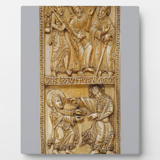 Journey to Emmaus and Noli Me Tangere Plaque