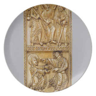 Journey to Emmaus and Noli Me Tangere Plate