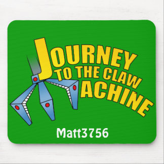Journey to the claw mousepad