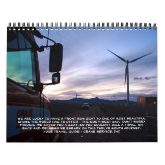 Journey to the Southwest Calendar