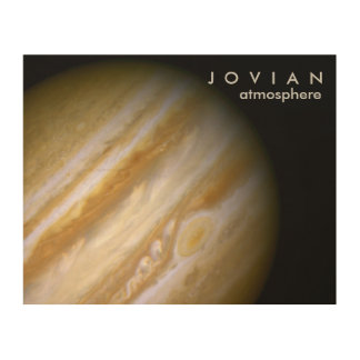 Jovian Atmosphere Wood Print