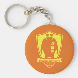 JOX -Monsters University Basic Round Button Keychain