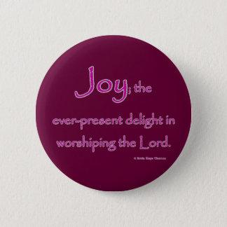 joy 2 inch round button
