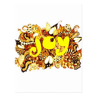 Joy 2 postcard