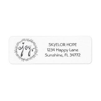 JOY | address labels