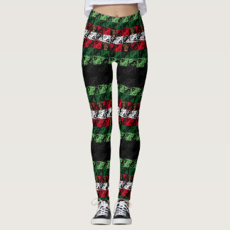 Joy and Jingle Winter Holiday Leggings
