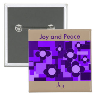 Joy and Peace Button