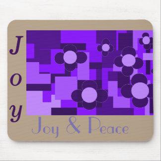 Joy and Peace Mousepad