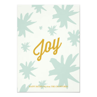 Joy Burst Holiday Greeting Announcement
