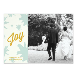 Joy Burst Photo Greeting Custom Announcement