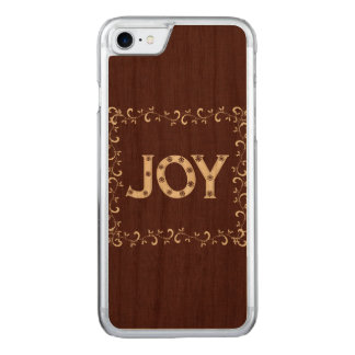 Joy Christmas Carved iPhone 8/7 Case