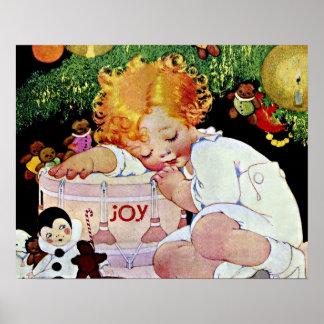 Joy Christmas Child Poster
