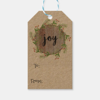 Joy - Christmas Gift Tags Pack Of Gift Tags
