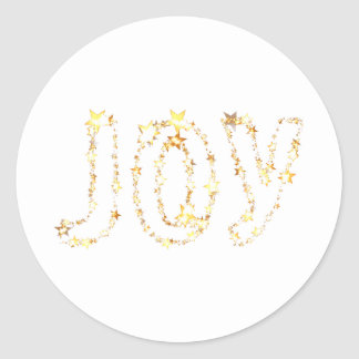 JOY CLASSIC ROUND STICKER