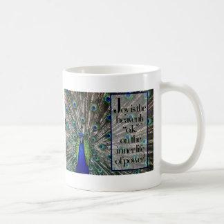 Joy Classic White Coffee Mug