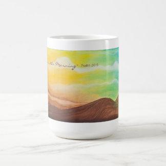 """Joy Comes in the Morning"" Mug"