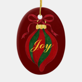 Joy - Customizable Christmas Tree Ornament