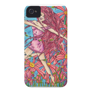 'Joy' - Fairy in the Flowers iPhone 4 Case-Mate Cases