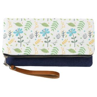 Joy Floral Fabric Clutch