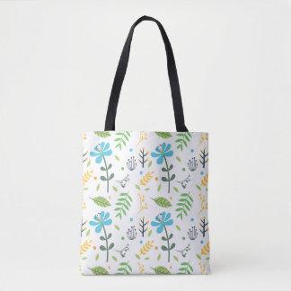 Joy Floral Tote Bag