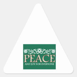 Joy For Everyone Triangle Sticker