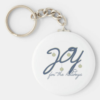 Joy For The Holidays Keychains