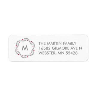 Joy Holiday Address Label