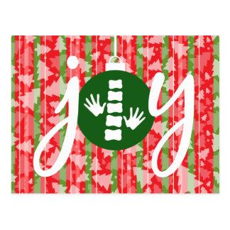 JOY Holiday Christmas Chiropractic Postcard