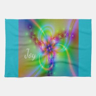 Joy - Image looks like radiant, beautiful Joy Kitchen Towel