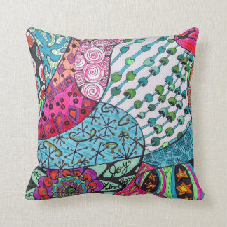joy love peace pillow